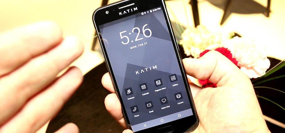 Telefon Katim ze Spojených arabských emirátů