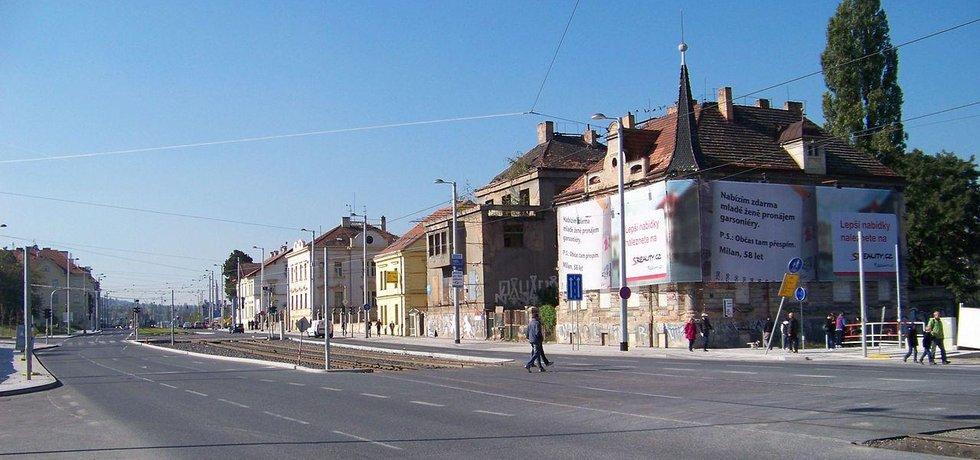 Ulice Milady Horákové