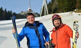 Igor Rattaj (vlevo) a Tibor Batthyány