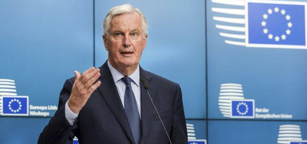 Havní unijní vyjednavač pro brexit Michel Barnier