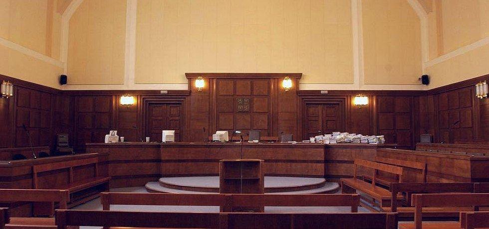 Soudní síň, ilustrační foto