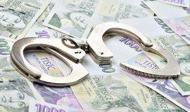 Policie a žalobci loni na kriminálních výnosech zajistili 7,9 miliardy korun - ilustrační foto
