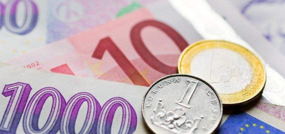 Koruna je k euru nejsilnější za téměř pět let, ilustrační foto