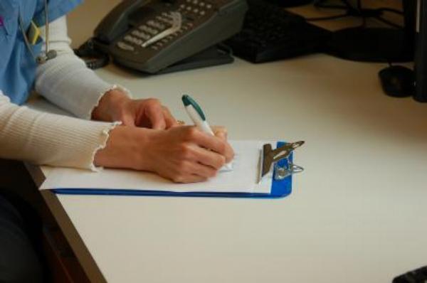 sestra, dotazník, dokumety, dokumentace