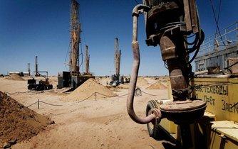 Těžba uranu v Kazachstánu, ilustrační foto