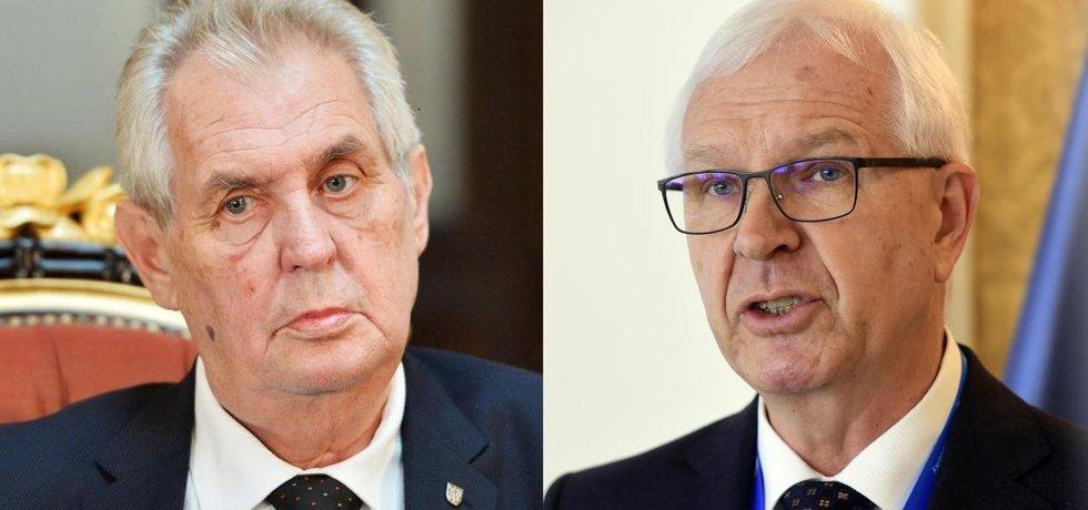 Miloš Zeman, Jiří Drahoš