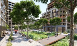 Vizualizace projektu Parková čtvrť