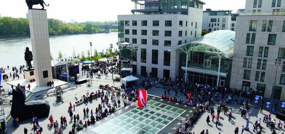 Obchodní centrum Eurovea