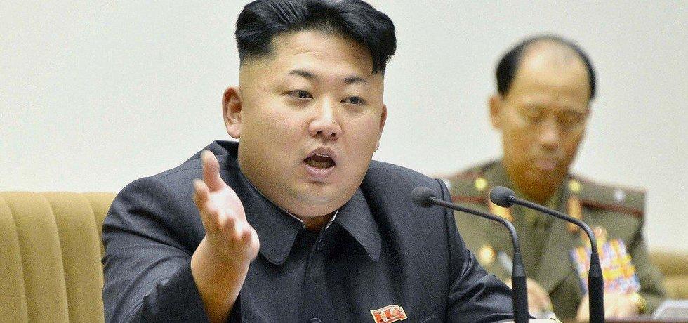 Severokojeský vůdce Kim Čong-un