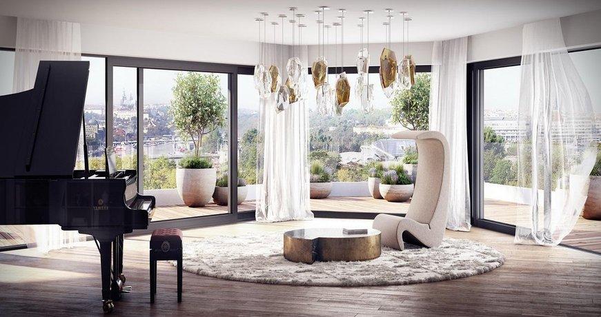 KAY River Lofts tvoří nabídka bytů o velikosti od 53 do 246 metrů čtverečních.