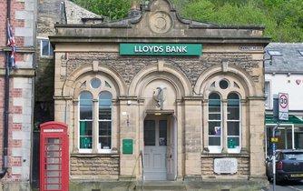 Pobočka bankovního domu Lloyd's v severním Yorkshire