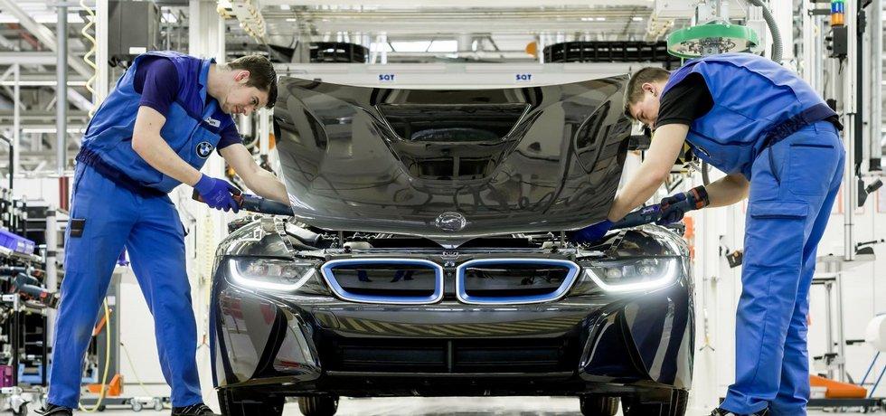 Továrna BMW v Lipsku, výroba modelu i8