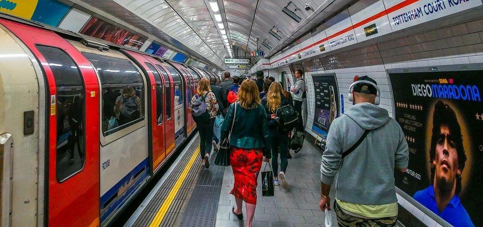 Londýnské metro, ilustrační foto