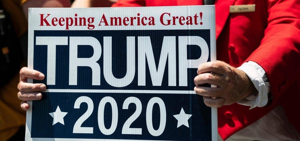 Donald Trump vybral na své znovuzvolení v roce 2020 už přes 100 milionů dolarů