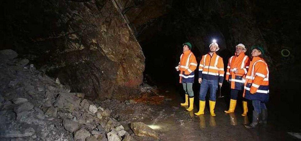 Projekt těžby lithia v rakouských Korutanech.