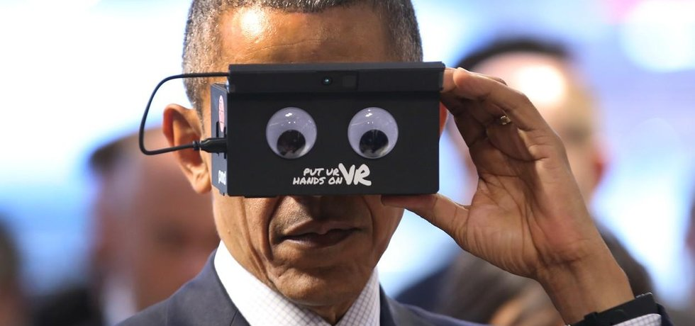 Barack Obama s brýlemi ifm electronic