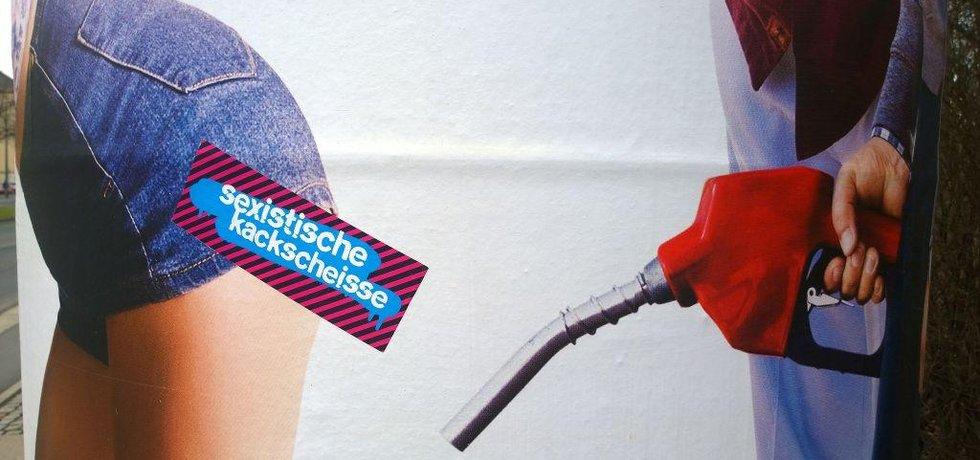 Kampaň proti sexismu v reklamě, Drážďany 2016
