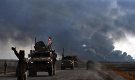 Americký konvoj opouští severosyrské město Tel Tamir