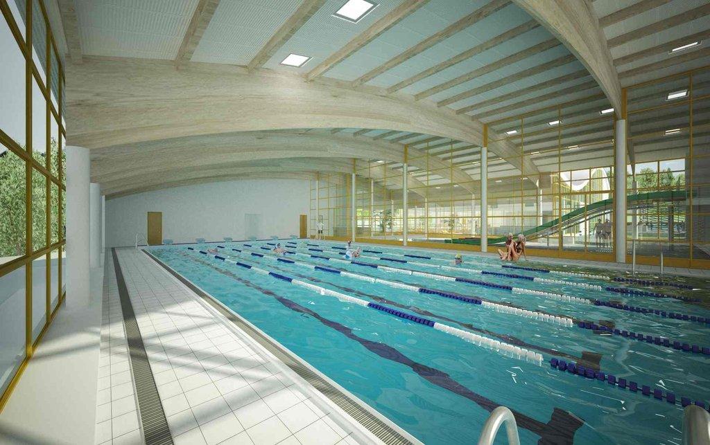 K dipozici má být pětadvacetimetrový krytý bazén