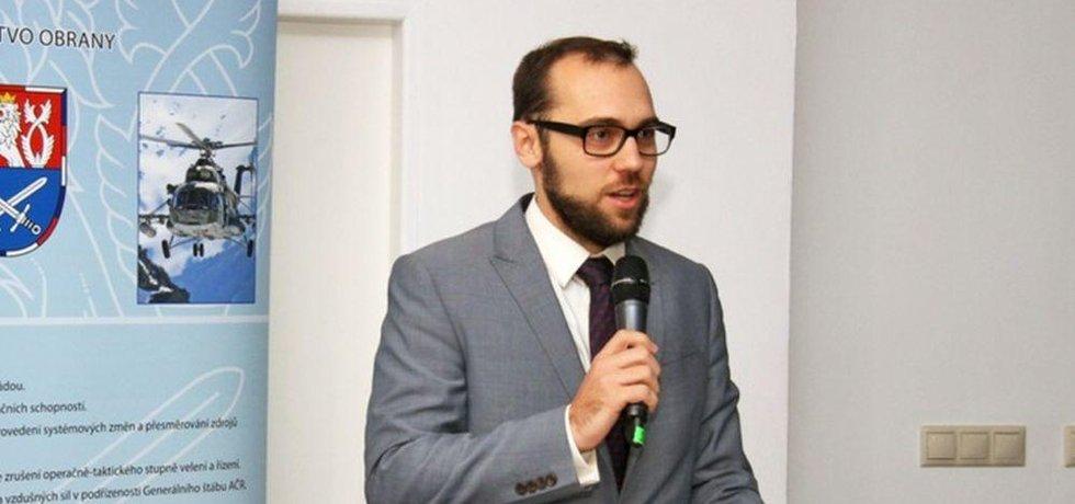 Ředitel odboru průmyslové spolupráce Ministerstva obrany ČR Tomáš Kopečný