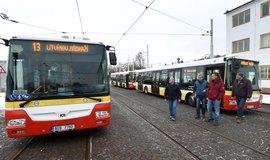 Autobusy v Mostě (Ústecký kraj)