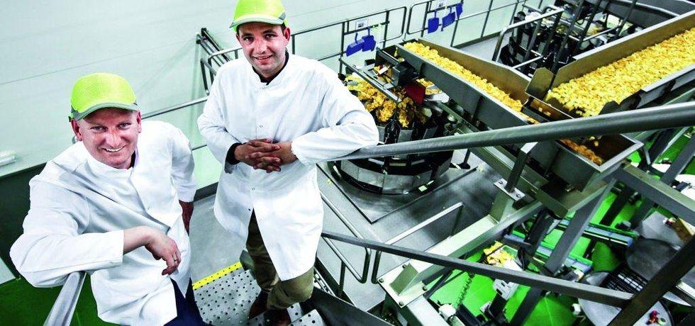 Nejsme chipsy, jsme brambůrky, říkají Libor Hobža a Petr Hobža mladší.