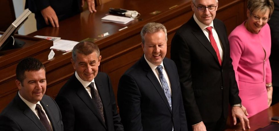 Hlasování o důvěře vládě Andreje Babiše