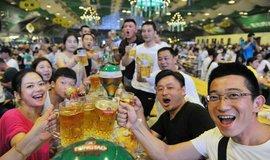 Pivní festival v Číně, ilustrační foto