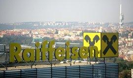 Raiffeisenbank letos stoupl čistý zisk o více než třetinu na 3,6 miliardy korun