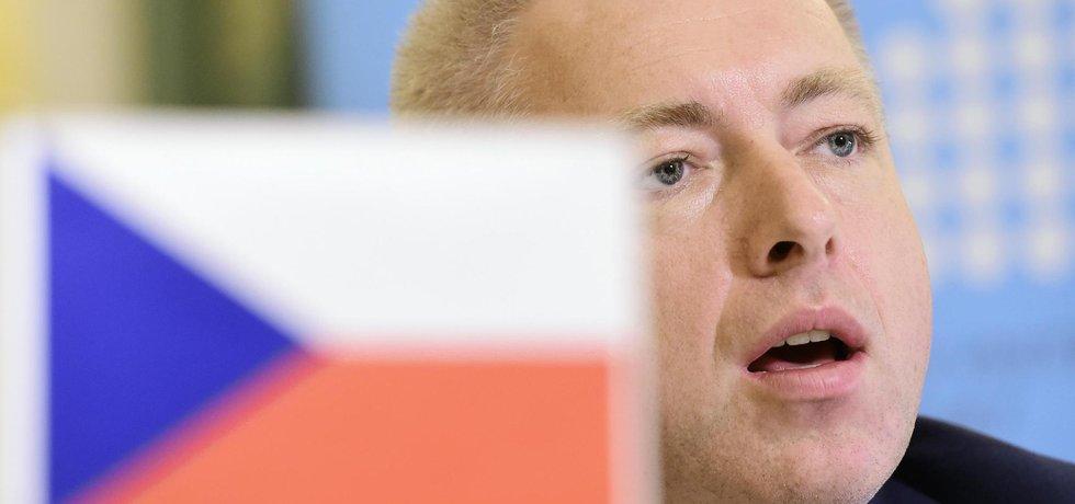 Český ministr vnitra Milan Chovanec vystoupil 4. listopadu na setkání s kolegy z Rakouska a Slovenska v rámci salcburského fóra.