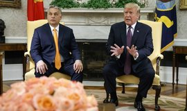 Donald Trump přijal Viktora Orbána