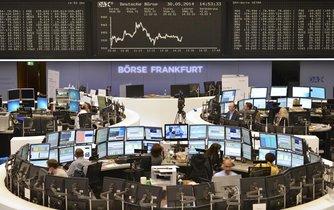 Burza Deutsche Börse ve Frankfurtu