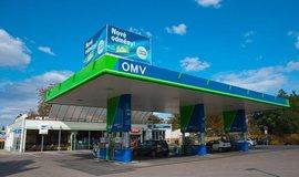 Čerpací stanice OMV, ilustrační foto