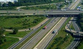 Německá dálnice, ilustrační foto
