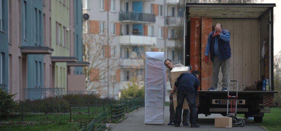 Stěhování, ilustrační foto
