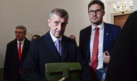 Premiér Andrej Babiš po jednání s Americkou obchodní komorou ve Washingtonu