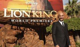 Herec Keegan-Michael Key na premiéře Lvího krále