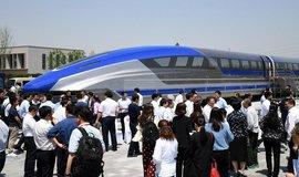 Prototyp čínského vlaku maglev, ilustrační foto
