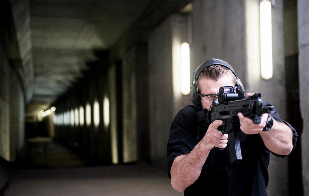 Cvičná střelba v České zbrojovce