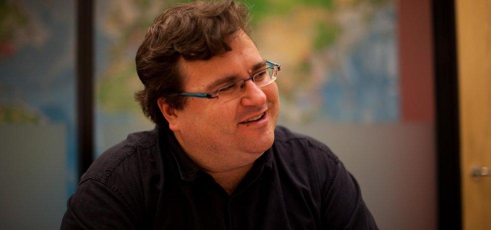 Reid Hoffman, americký investor, podnikatel a spoluzakladatel sítě LinkedIn