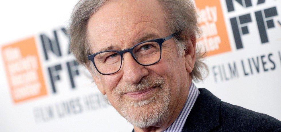Americký filmový režisér a producent Steven Spielberg