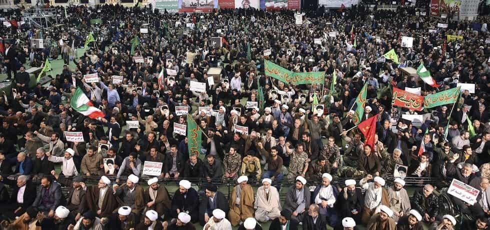 Demonstrace v Teheránu