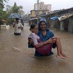 S častými záplavami se potýká i indická Bombaj.