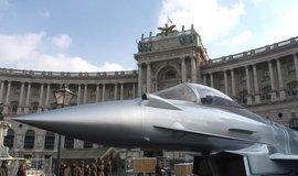 Rakouský Eurofighter, ilustrační foto