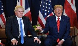 Boris Johnson a Donald Trump, ilustrační foto