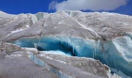 15 tisíc let stará viróza. Vědci v tajících ledovcích našli dosud neznámé viry