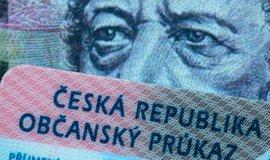 Občanský průkaz, ilustrační foto