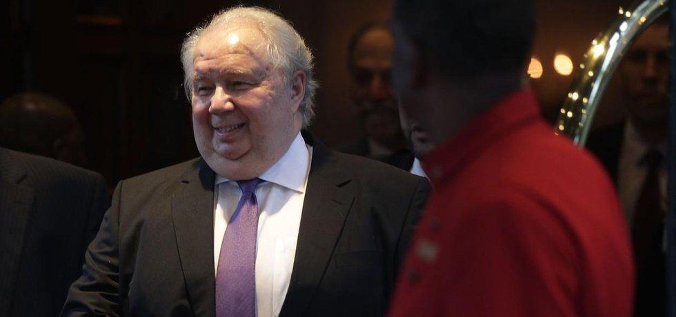 Ruský velvyslanec v USA Sergej Kisljak
