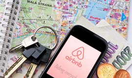 Airbnb v Praze - ilustrační foto