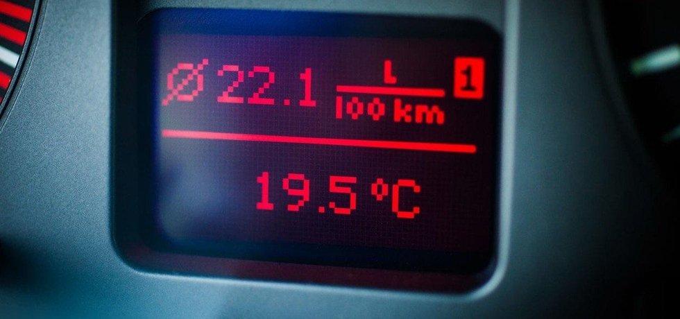 Spotřeba paliva, ilustrační foto